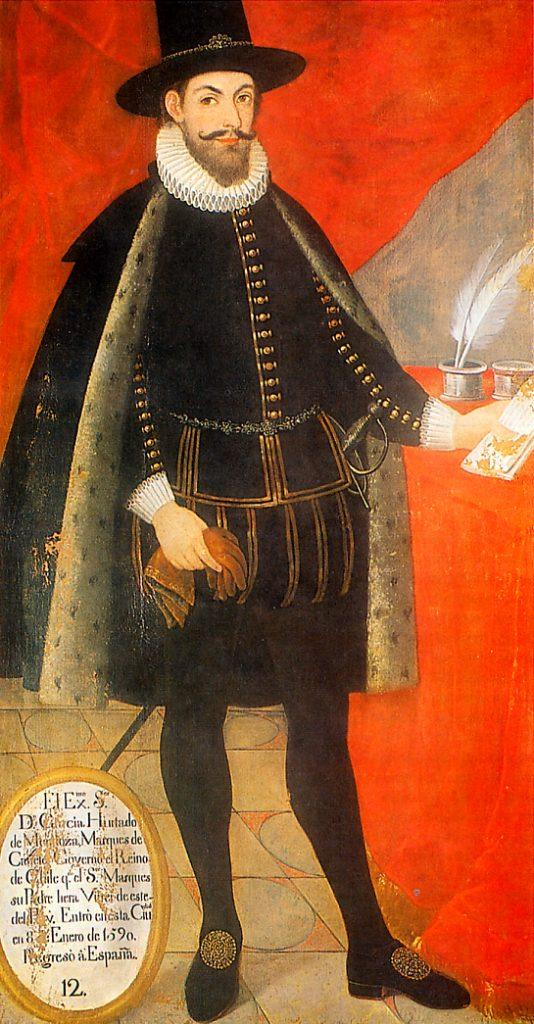 García Hurtado de Mendoza, marqués de Cañete y padre del enamorado